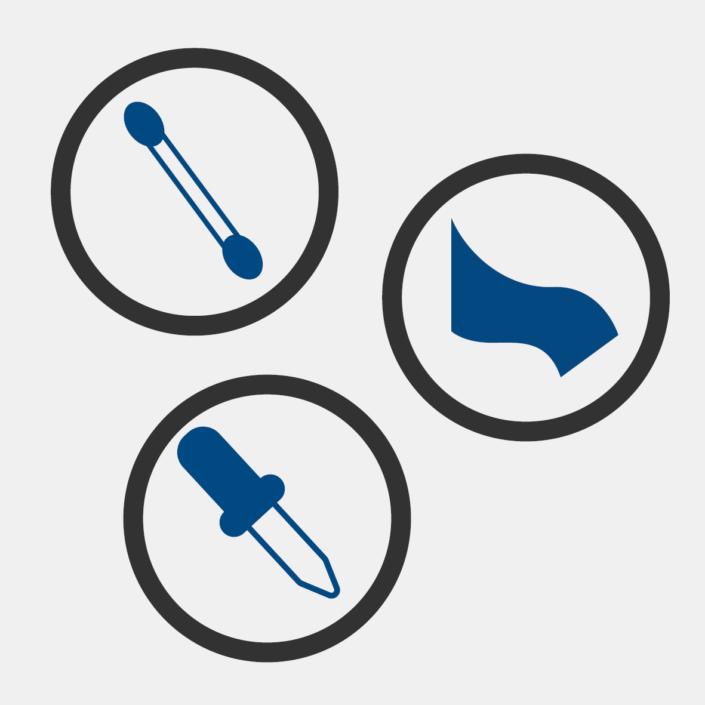 Prélèvements cliniques non invasifs