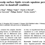 Scalp surface lipids